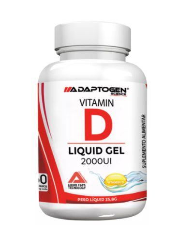 Vitamina D3 430mg 2000ui (60 caps) - Adaptogen