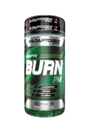 Burn PM Termogênico Noturno (60 Cáps) - Adaptogen