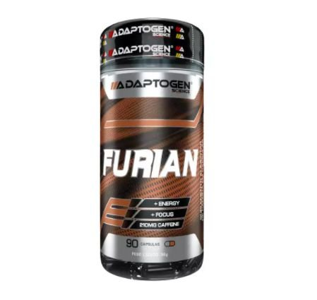 Furian Cafeína (90 caps) - Adaptogen