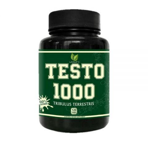 TESTO 1000 TRIBULUS TERRESTRIS (120 TABS) - Lablife