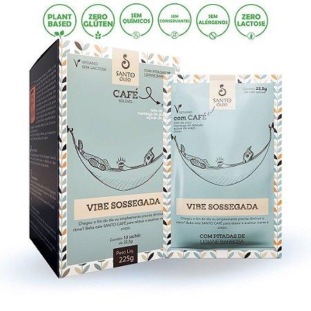 Sachê Café Vibe Sossegada 22,5g (Caixa C/ 10 Unidades) - Santo Óleo