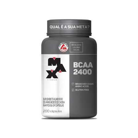 BCAA 2400 (200 caps) Max Titanium