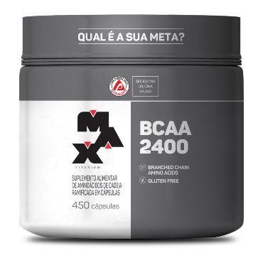 BCAA 2400 (450 caps) Max Titanium