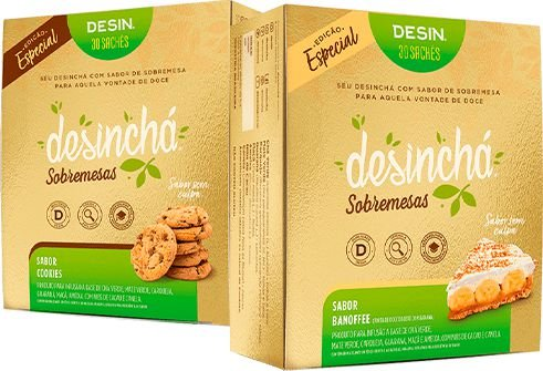 Chá Desinchá - Sobremesas (30 Sachês) - Desinchá