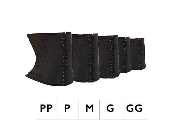 LANÇAMENTO! KIT 5 Cintas Modeladoras (12 Barbatanas) - UNISSEX - PP, P, M, G E GG!