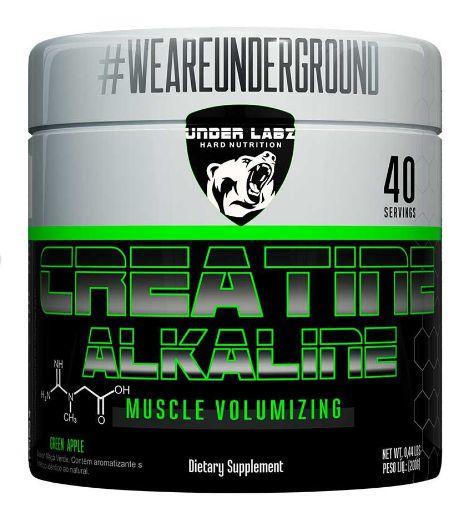 Creatine Alkaline (200g) Green Apple - Under Labz