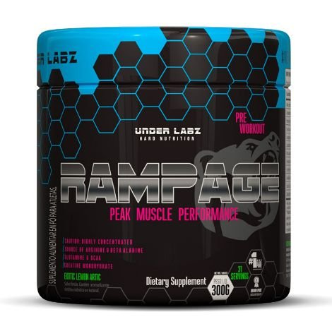 Rampage Pre Workout (300g) - Under Labz