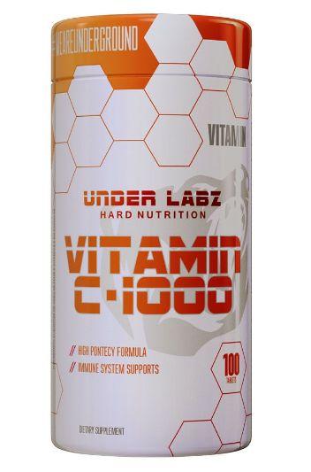 Vitamina C-1000 (100 caps) - Under Labz