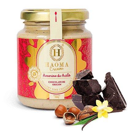 Cream c/ Whey Protein isolado + colágeno hidrolisado - sabor Amorino De Avelã ZERO açúcar (200g) - HAOMA