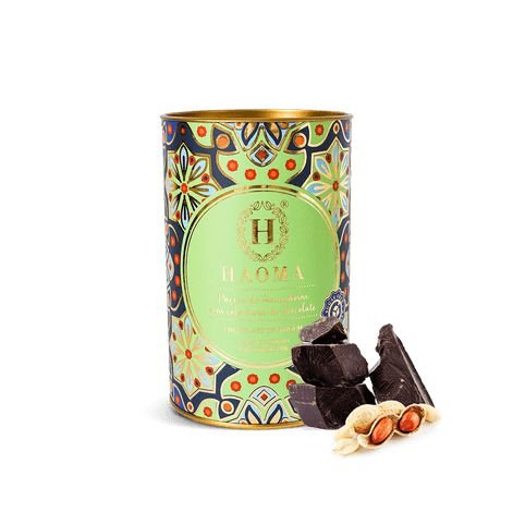 Paçoca de Amendoim C/ Cobertura de Chocolate ZERO açúcar (12 Unidades) - HAOMA