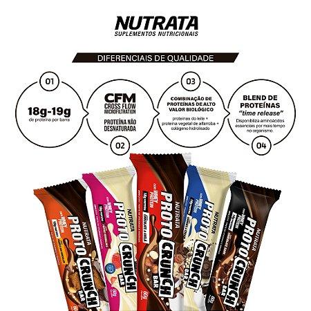Proto Crunch - Barra de Proteína (60g) - Nutrata