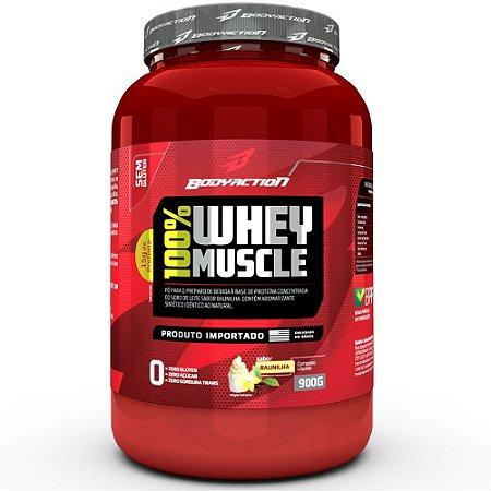 100% Whey Muscle (900g) BodyAction
