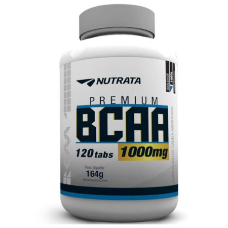 BCAA Premium 1000mg (120 Tabs) Nutrata