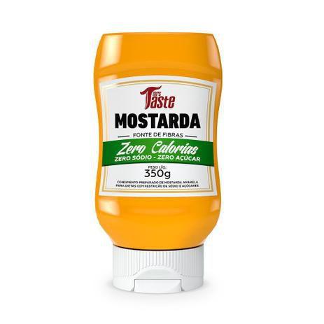 Molho Mostarda ZERO (350g) Mrs Taste