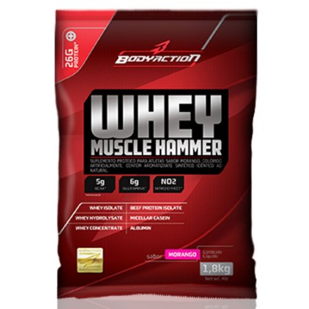 Whey Muscle Hammer (900g) BodyAction