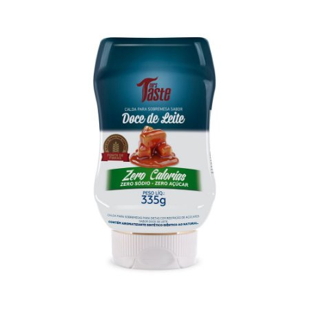 Calda de Doce de Leite ZERO (335G) Mrs Taste