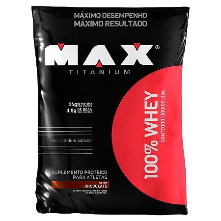100% Whey (2Kg) Max Titanium