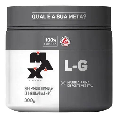 GLUTAMINA L-G (300G) - MAX TITANIUM