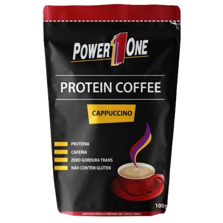 Protein Coffee Cappuccino (100g) Power One