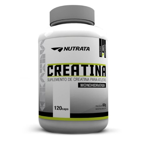 Creatina Monohidratada (120 Caps) Nutrata