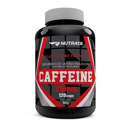 Caffeine 210mg (120 Caps) Nutrata