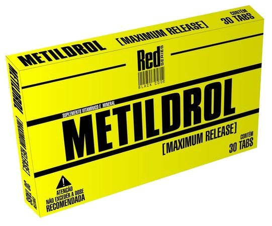 Metildrol (30 Tabs) Red Series