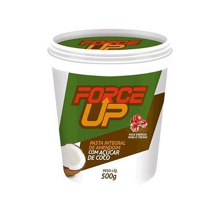 Pasta de Amendoim C/ Açucar de Coco (500g) Force Up