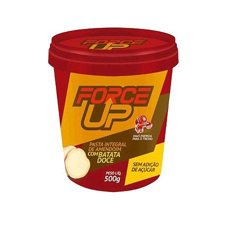 Pasta de Amendoim C/ Batata Doce (500g) Force Up