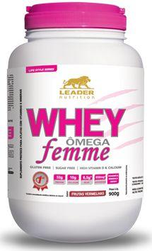 Whey Omega Femme (900g) Leader Nutrition