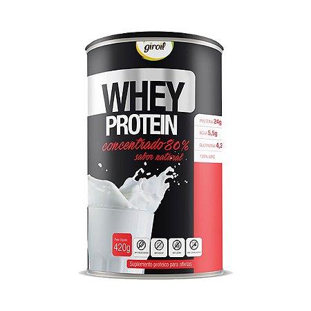 Whey Protein Concentrado Natural (420g) Giroil
