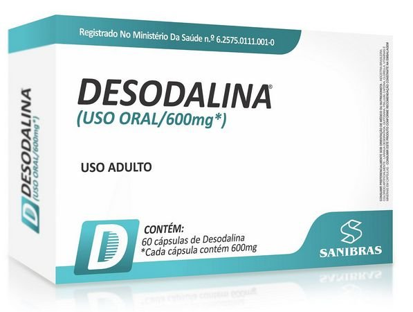 Desodalina (60 Caps) Power Supplements