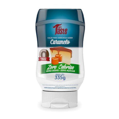 Calda de Caramelo ZERO (335g) Mrs Taste