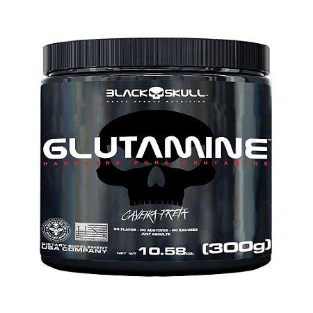 Glutamine (300g) Black Skull
