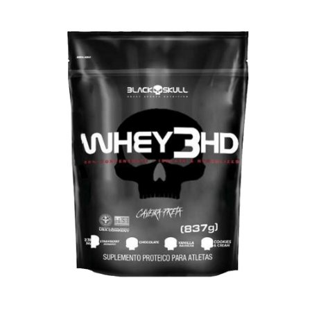 Whey 3HD (837gr) Black Skull