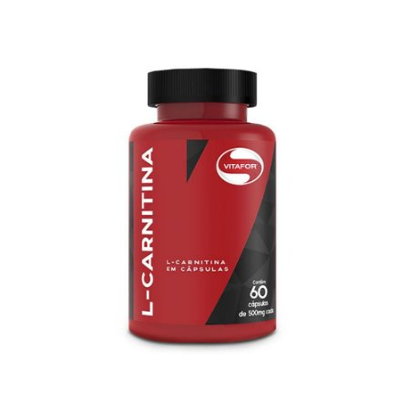 L- Carnitina (60 caps) 500 MG Vitafor