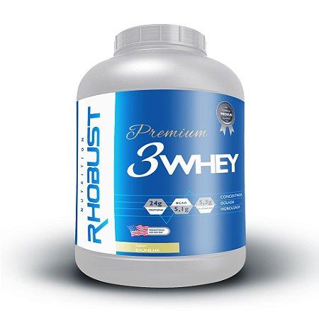 Whey 3W Premium (1,8kg) Rhobust