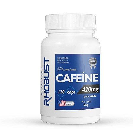 Caféina (120caps) 420 MG Rhobust