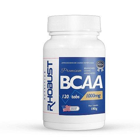 BCAA (120 tabs) 1000MG- Rhobust
