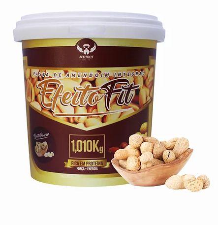 Pasta de Amendoim TRADICIONAL (1kg) Efeito Fit