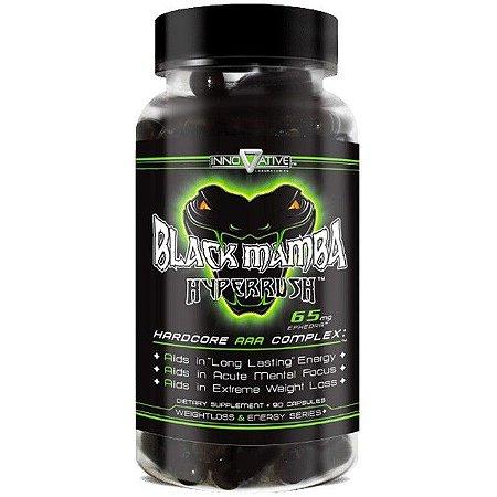 Termogênico IMPORTADO Black Mamba  Hyperrush  (90 cápsulas) - Innovative Labs