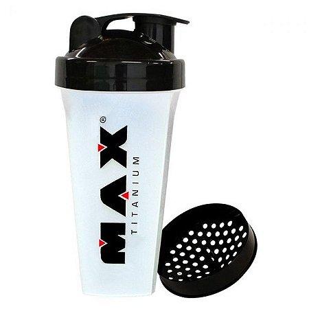 Coqueteleira Transparente (700ml) Max Titanium