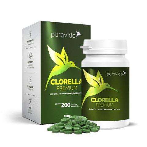 Clorella Premium 500MG (200 caps) - Pura Vida