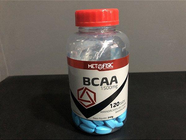 Bcaa 1400mg (120tabs) - MetaFisic
