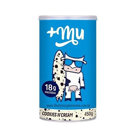 Whey Cookies N' Cream (450g)  + Mu