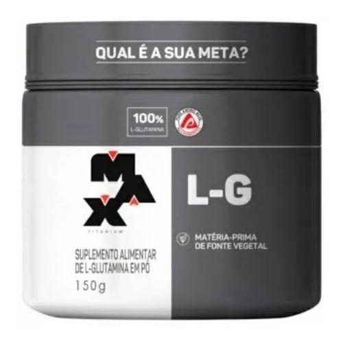 Glutamina L-G (150g) Max Titanium