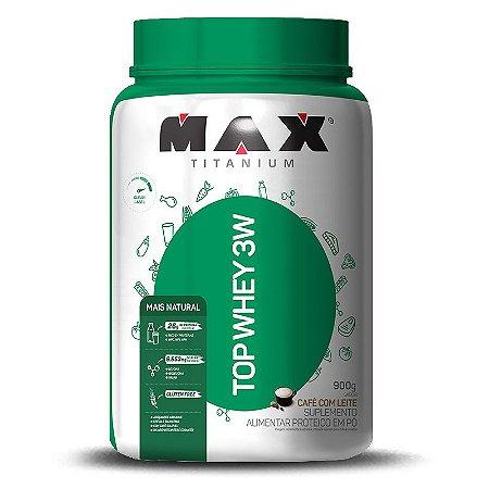 Top Whey 3W + Natural (900g) Max Titanium