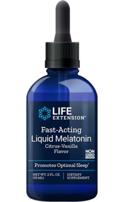 Melatonina liquida IMPORTADA 3mg (59ml) - Life Extension