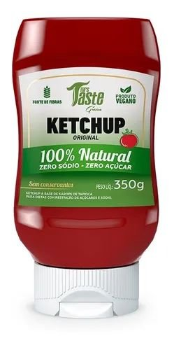 Molho Ketchup VEGANO ZERO (350g) Mrs Taste Green