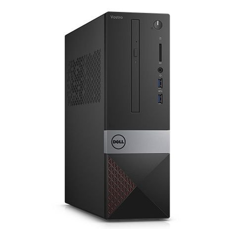 Dell Desktop Vostro 3250 Intel Core i3-6100 3.7GHz, 4GB RAM, 500GB HD, DVD, Wi-Fi, Ubuntu Linux