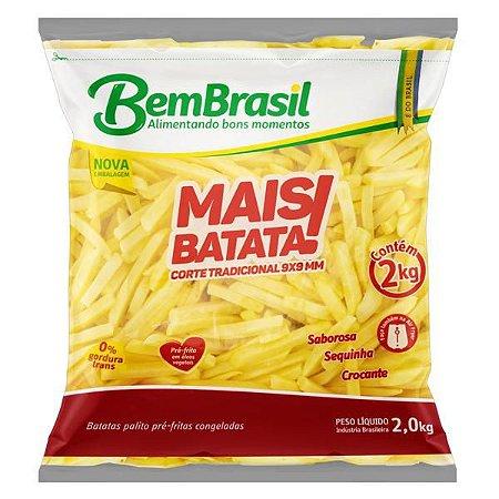 Batata pre frita congelada - Mais batata - 2kg